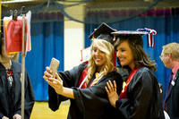 College of Nursing and Health Professions Ceremony 2015