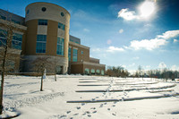 2014 Rice Library snow